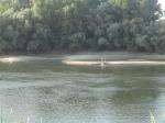 Dniestr - widok z Naddniestrza na stronę Mołdowy