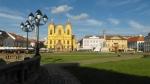 Plata Unirii (Plac Jedności, chodzi przede wszystkim o jedność Siedmiogrodu, długo węgierskiego z resztą Rumunii) ma wyjątkowy urok.
