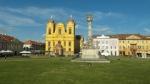 Piata Unirii. Katedra rzymsko-katolicka zb. w połowie XVII wieku. Piękny przykład austriackiego baroku.
