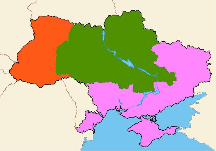 Mapa podzial Kolesniczenki