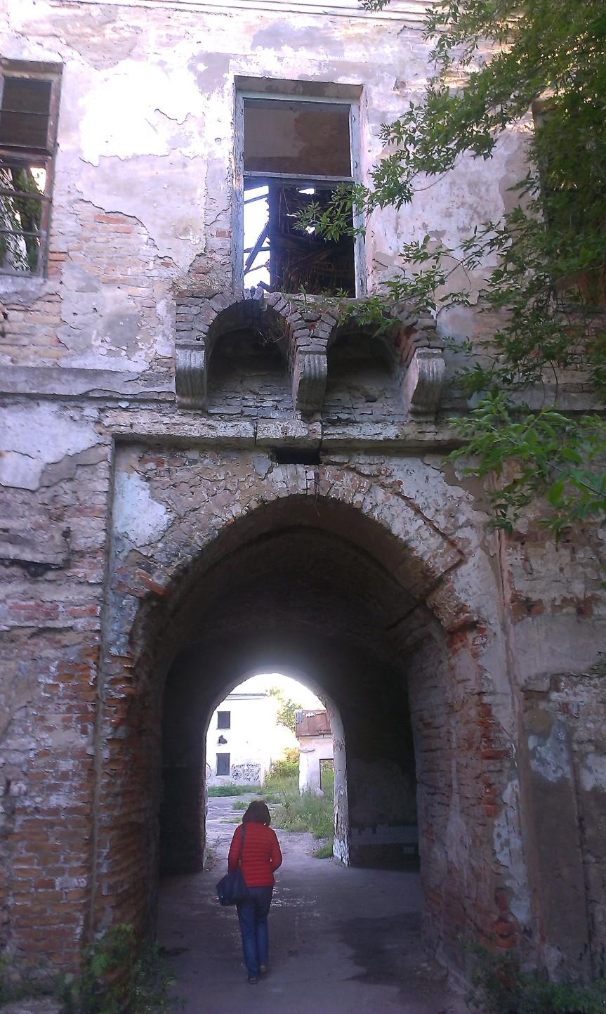 Klebań brama wjazdowa