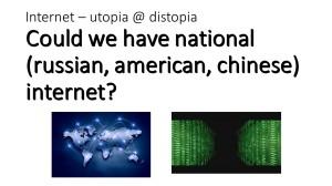 Internet & National Interest (1)