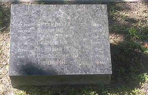 Ołyka cmentarz (17) grób radziecki